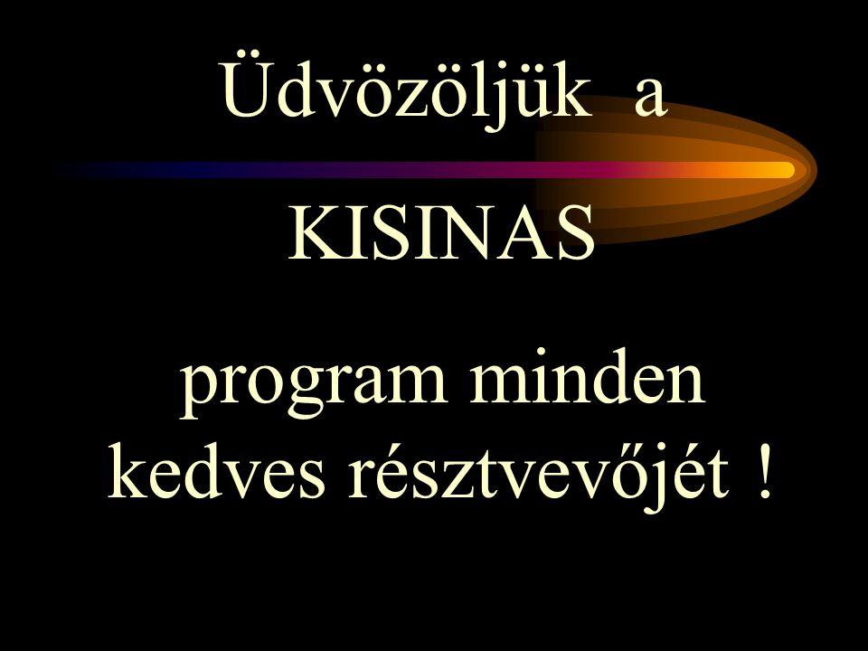 program minden kedves résztvevőjét !