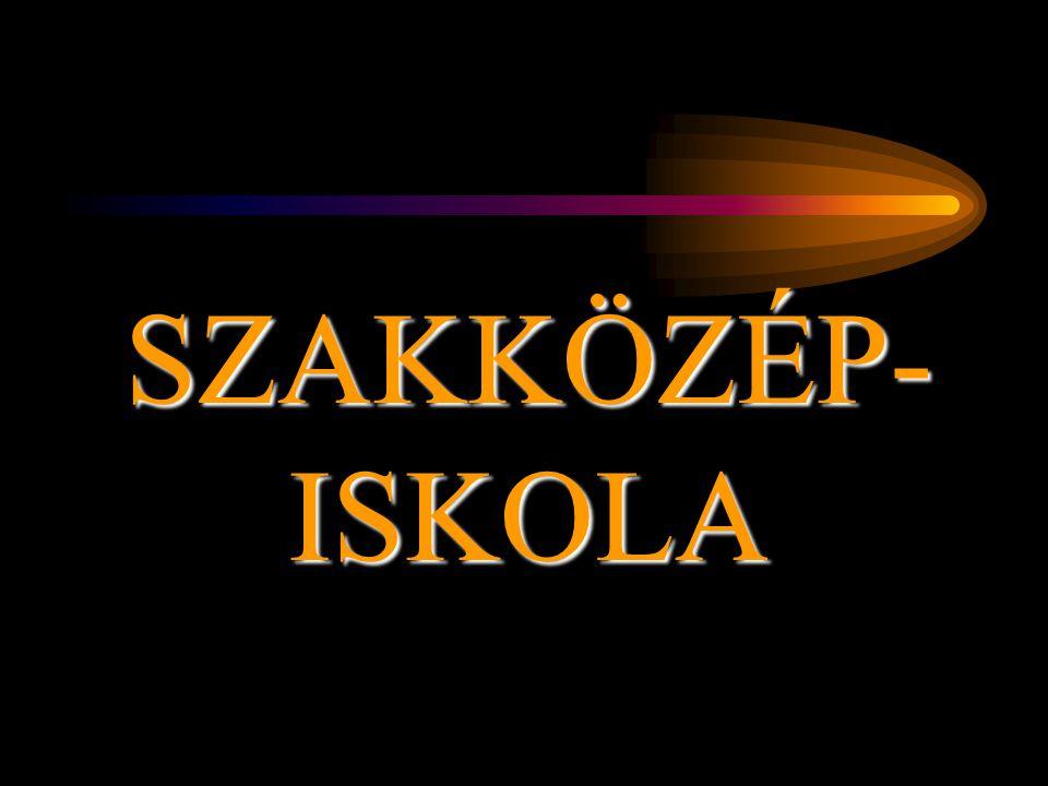 SZAKKÖZÉP-ISKOLA