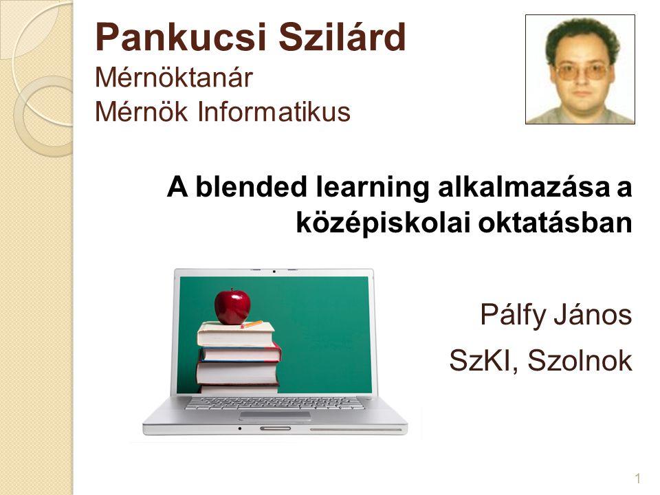 Pankucsi Szilárd Mérnöktanár Mérnök Informatikus