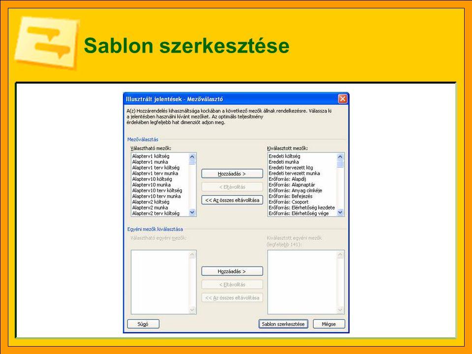 Sablon szerkesztése