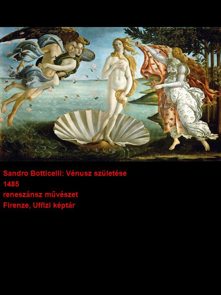 Sandro Botticelli: Vénusz születése