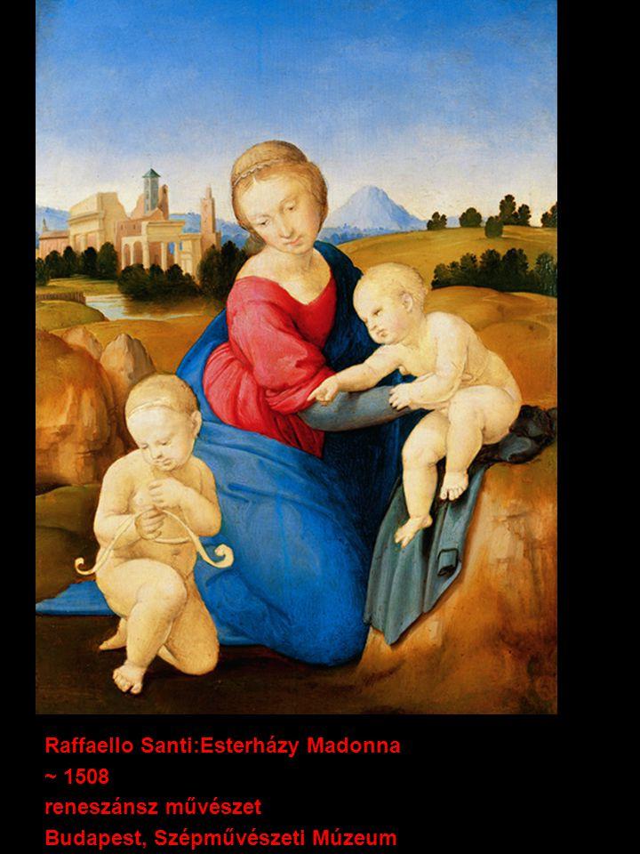 Raffaello Santi:Esterházy Madonna