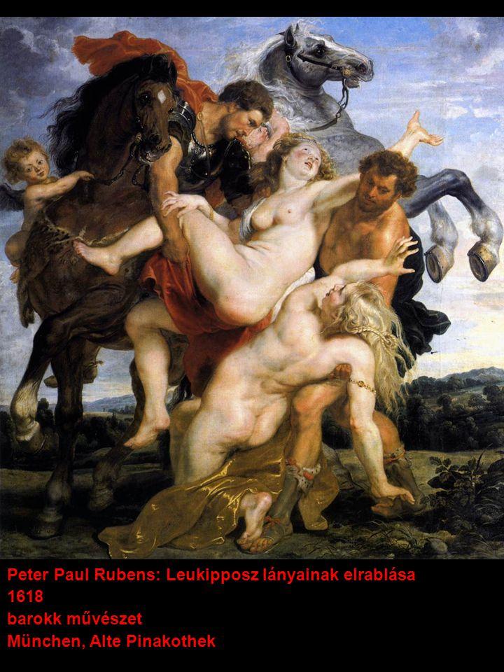 Peter Paul Rubens: Leukipposz lányainak elrablása