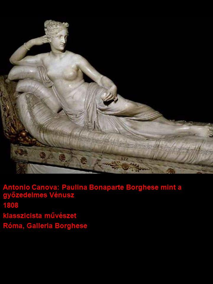 Antonio Canova: Paulina Bonaparte Borghese mint a győzedelmes Vénusz