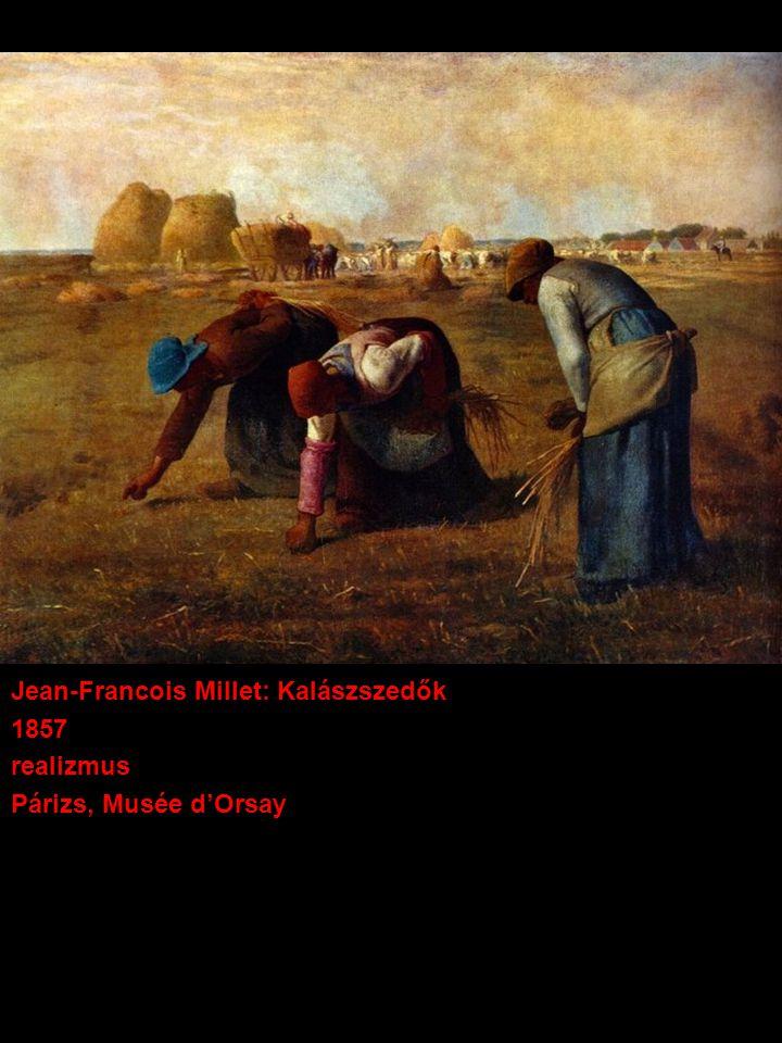 Jean-Francois Millet: Kalászszedők