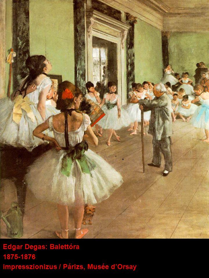 Edgar Degas: Balettóra