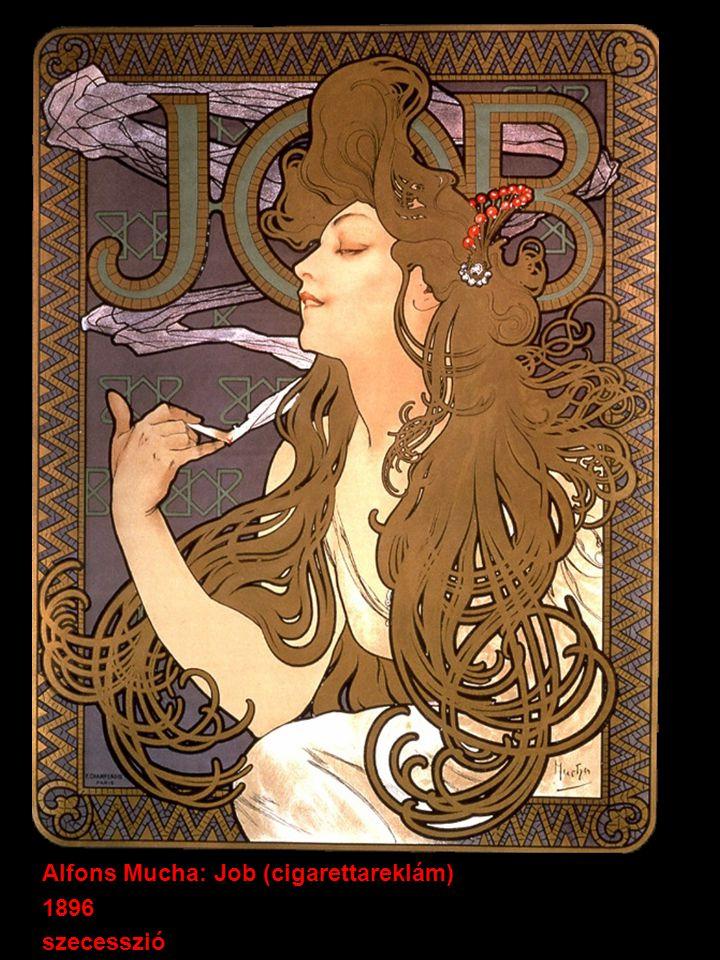 Alfons Mucha: Job (cigarettareklám)