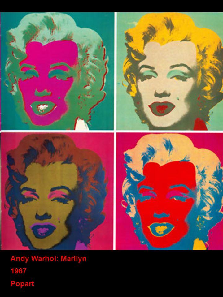 Andy Warhol: Marilyn 1967 Popart