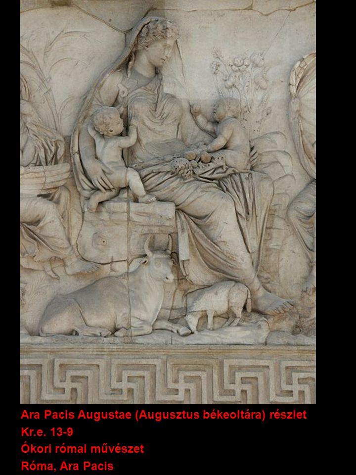 Ara Pacis Augustae (Augusztus békeoltára) részlet