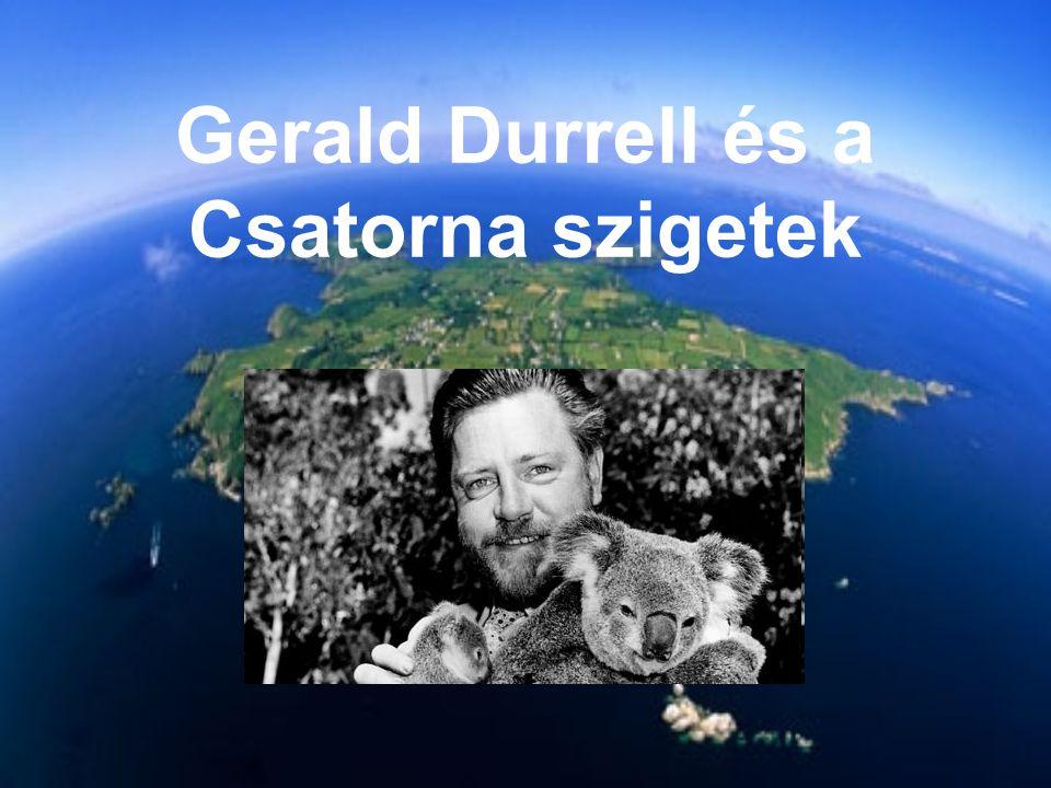 Gerald Durrell és a Csatorna szigetek