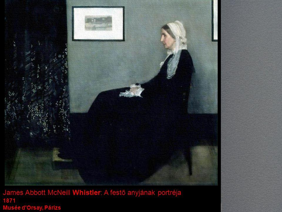 James Abbott McNeill Whistler: A festő anyjának portréja