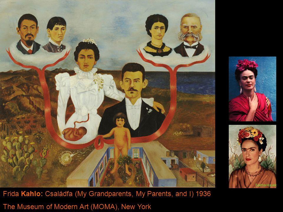 Frida Kahlo: Családfa (My Grandparents, My Parents, and I) 1936