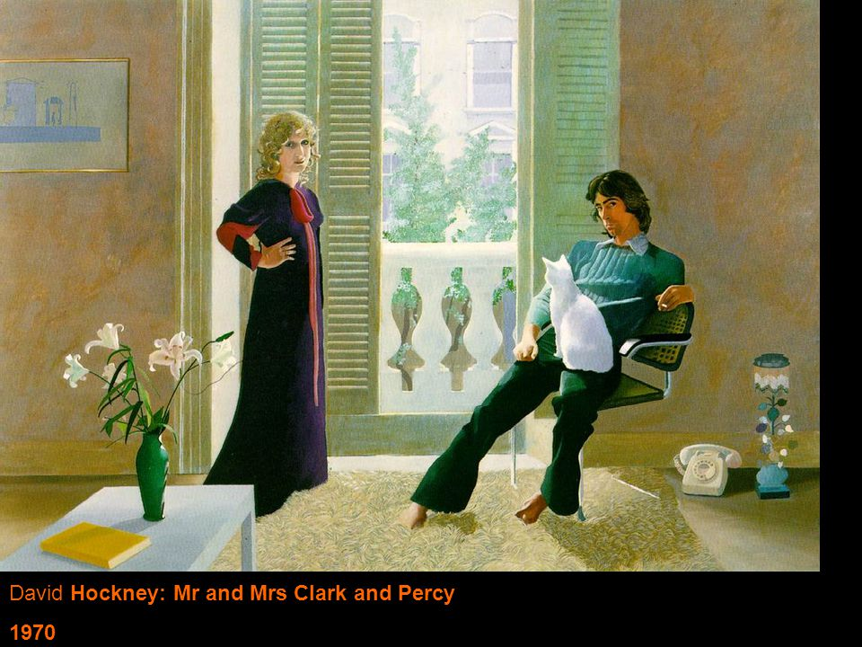 David Hockney: Mr and Mrs Clark and Percy