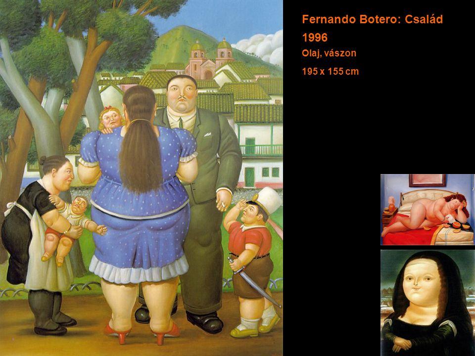 Fernando Botero: Család 1996