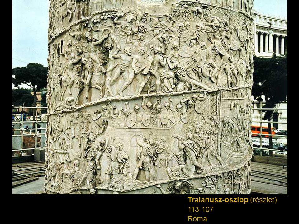 Traianusz-oszlop (részlet)