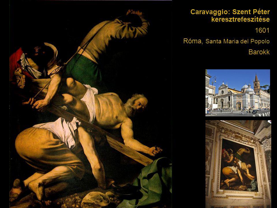 Caravaggio: Szent Péter keresztrefeszítése