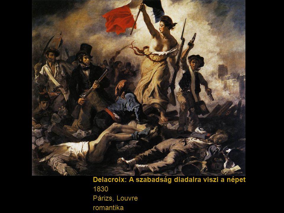 Delacroix: A szabadság diadalra viszi a népet