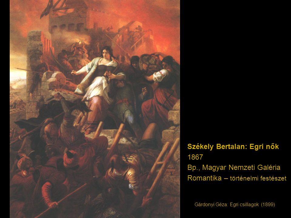 Székely Bertalan: Egri nők 1867 Bp., Magyar Nemzeti Galéria