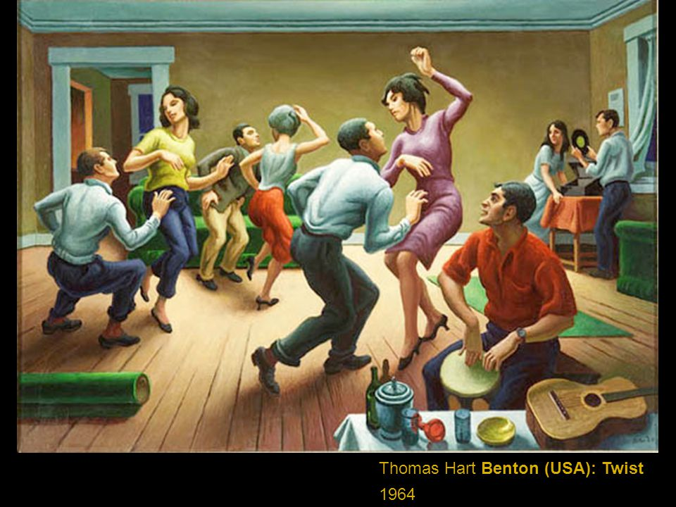 Thomas Hart Benton (USA): Twist
