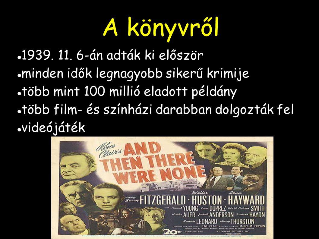 A könyvről 1939. 11. 6-án adták ki először