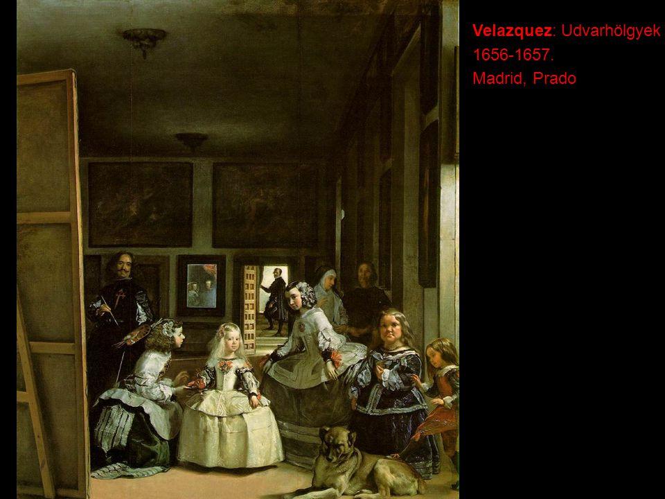 Velazquez: Udvarhölgyek
