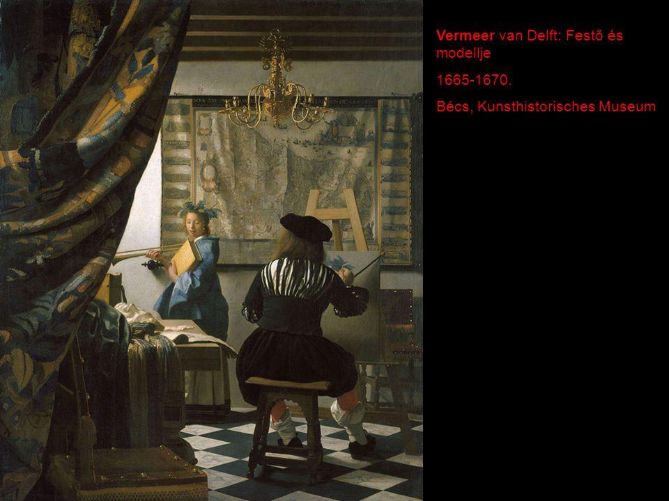 Vermeer van Delft: Festő és modellje