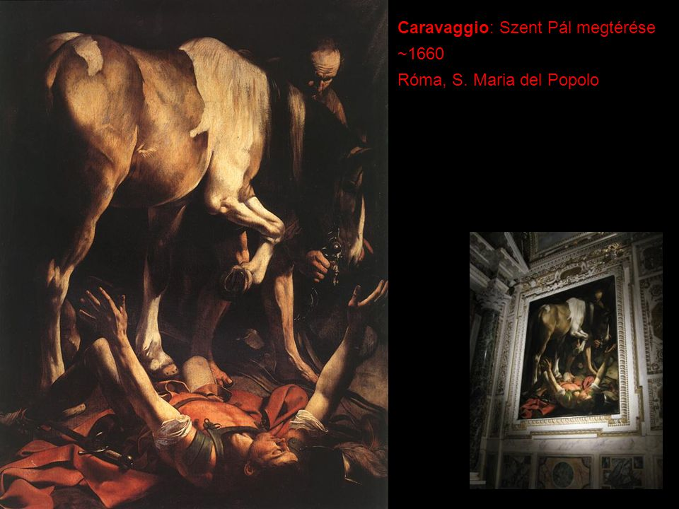 Caravaggio: Szent Pál megtérése