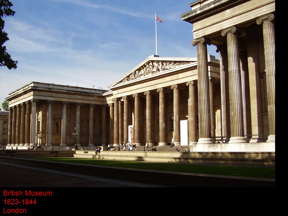 British Museum 1823-1844 London