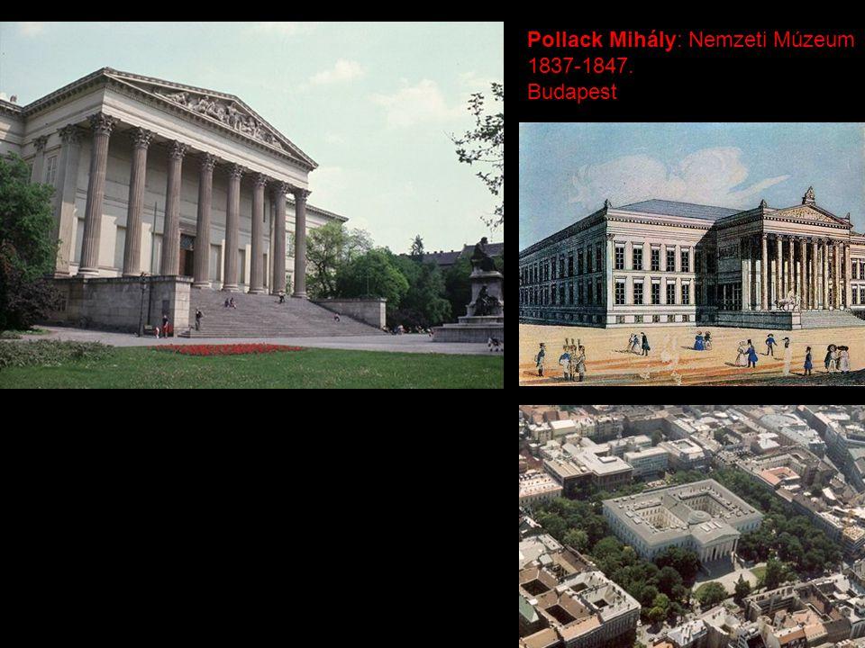 Pollack Mihály: Nemzeti Múzeum