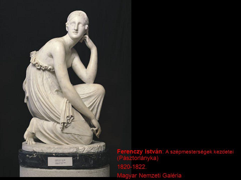 Ferenczy István: A szépmesterségek kezdetei (Pásztorlányka)