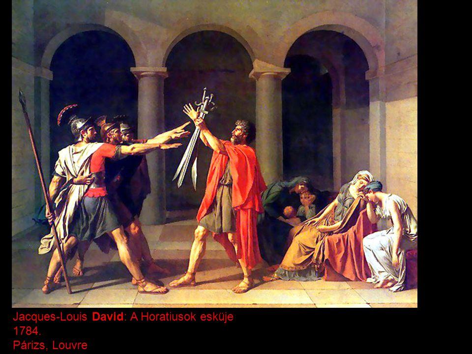 Jacques-Louis David: A Horatiusok esküje
