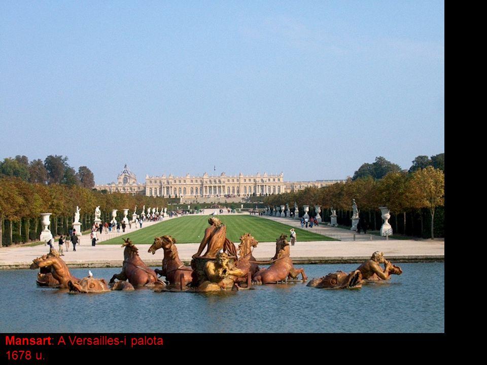Mansart: A Versailles-i palota