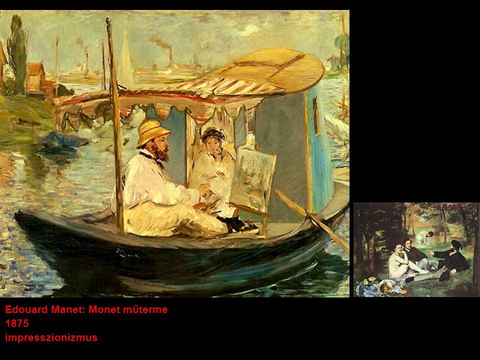 Edouard Manet: Monet műterme