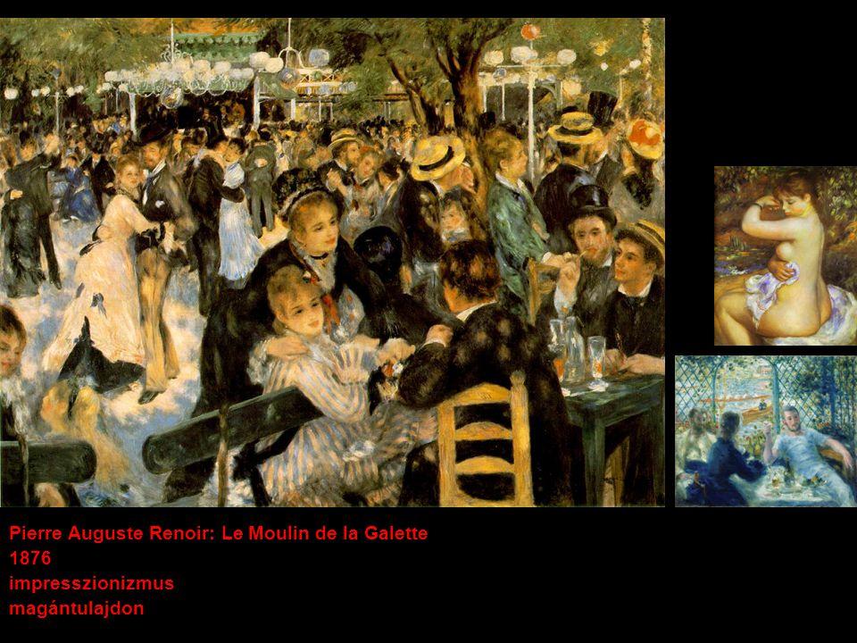 Pierre Auguste Renoir: Le Moulin de la Galette