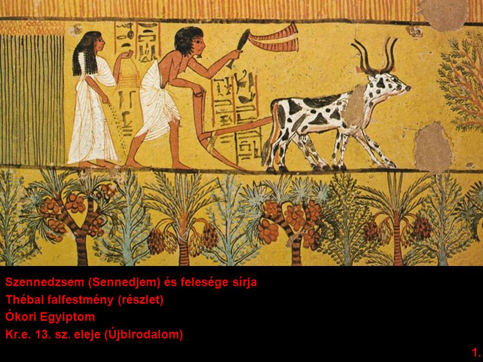 Szennedzsem (Sennedjem) és felesége sírja