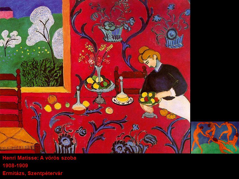 Henri Matisse: A vörös szoba