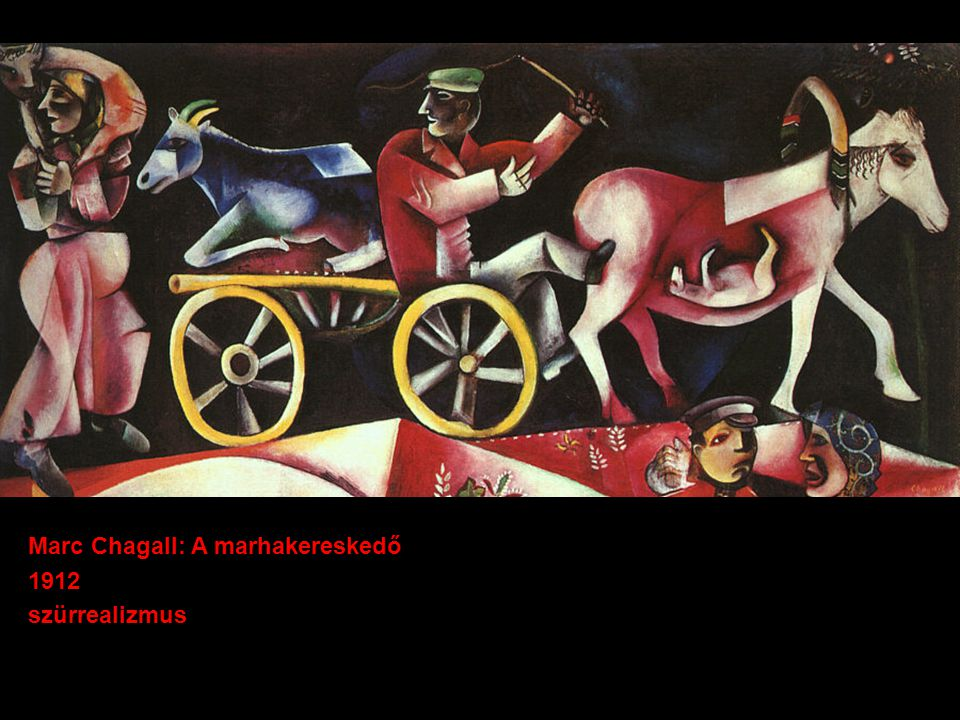 Marc Chagall: A marhakereskedő