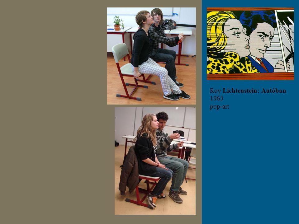 Roy Lichtenstein: Autóban