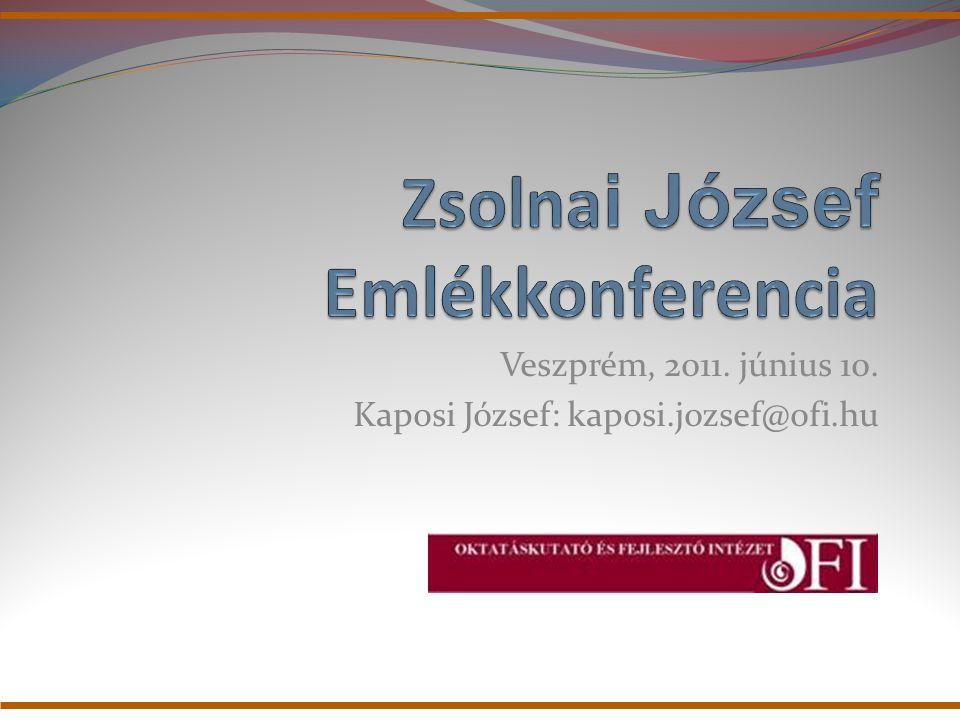 Zsolnai József Emlékkonferencia