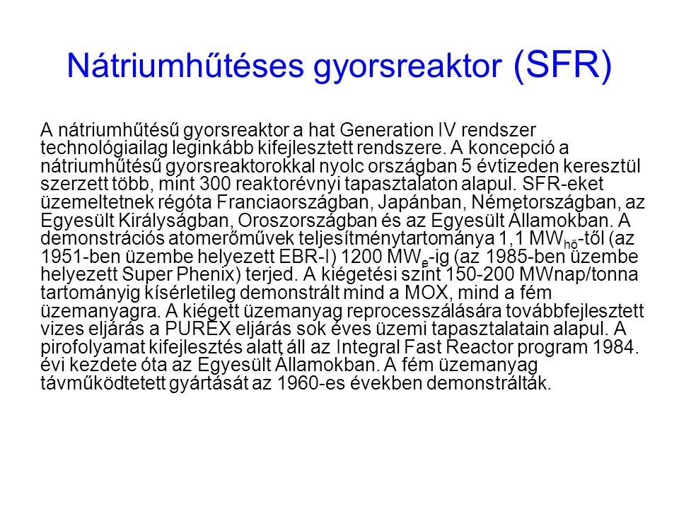 Nátriumhűtéses gyorsreaktor (SFR)