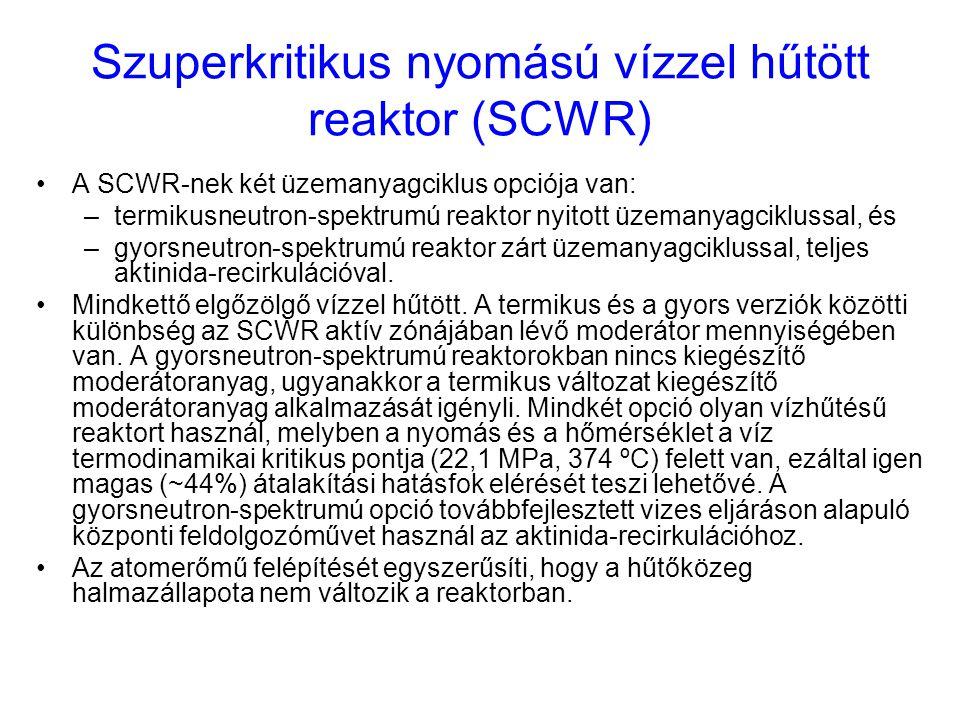 Szuperkritikus nyomású vízzel hűtött reaktor (SCWR)
