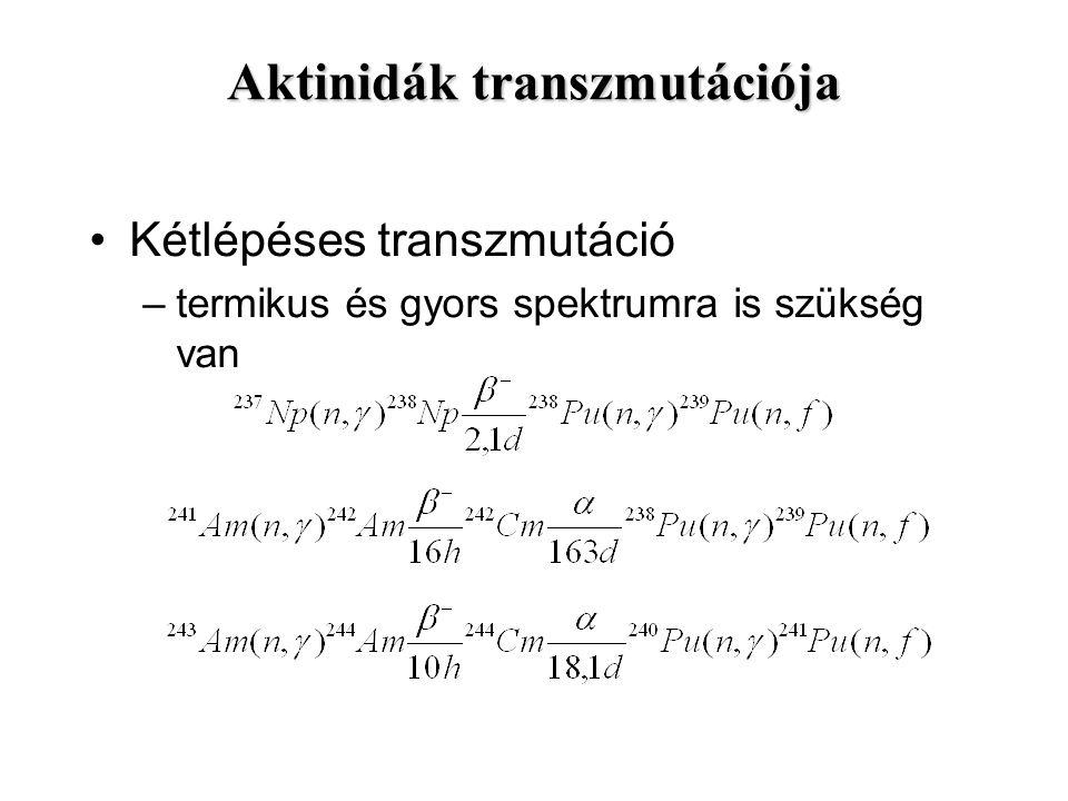 Aktinidák transzmutációja