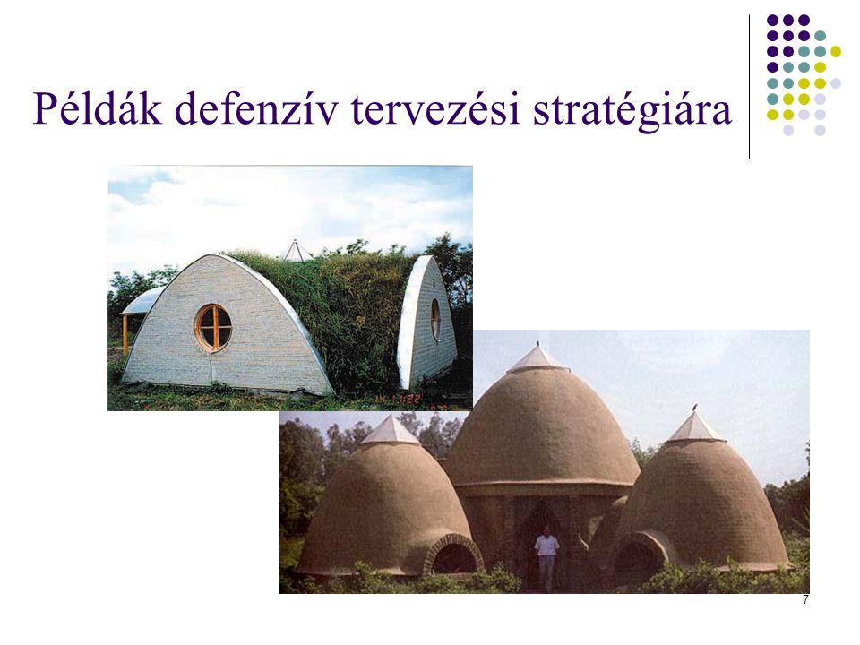 Példák defenzív tervezési stratégiára