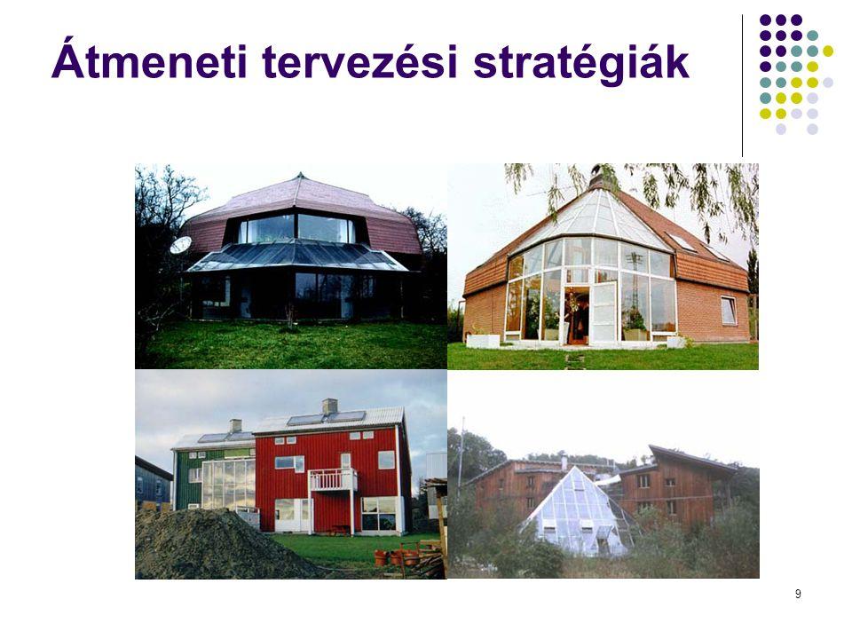 Átmeneti tervezési stratégiák