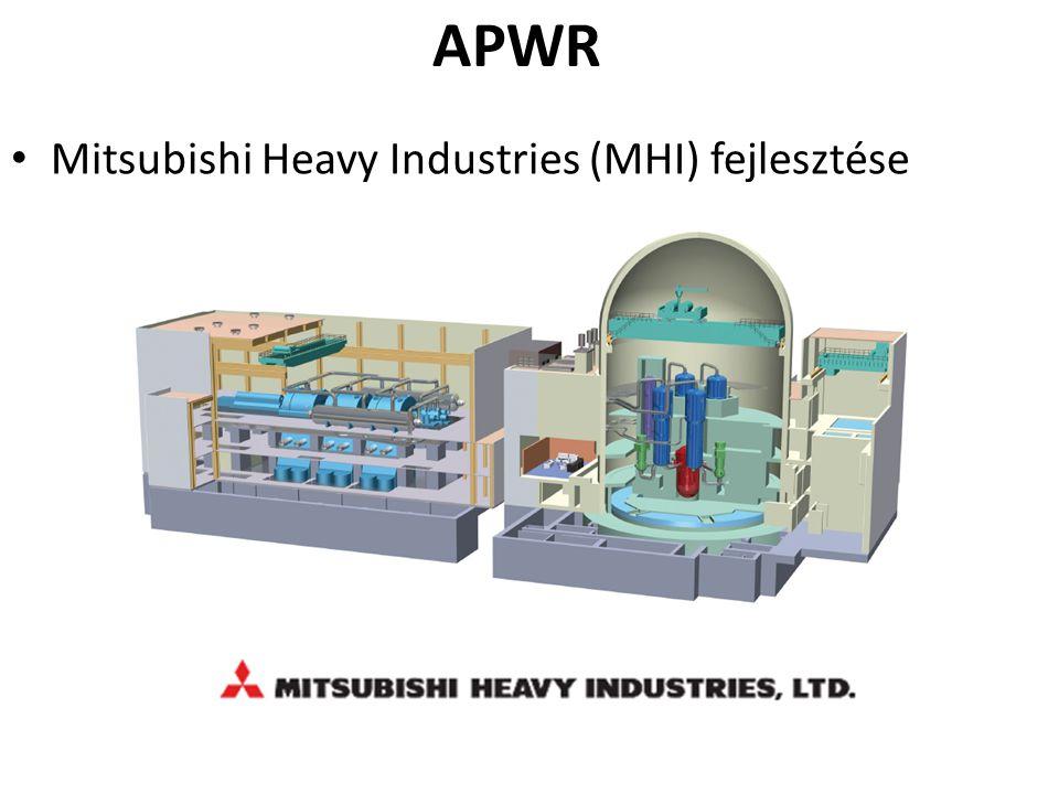 APWR Mitsubishi Heavy Industries (MHI) fejlesztése