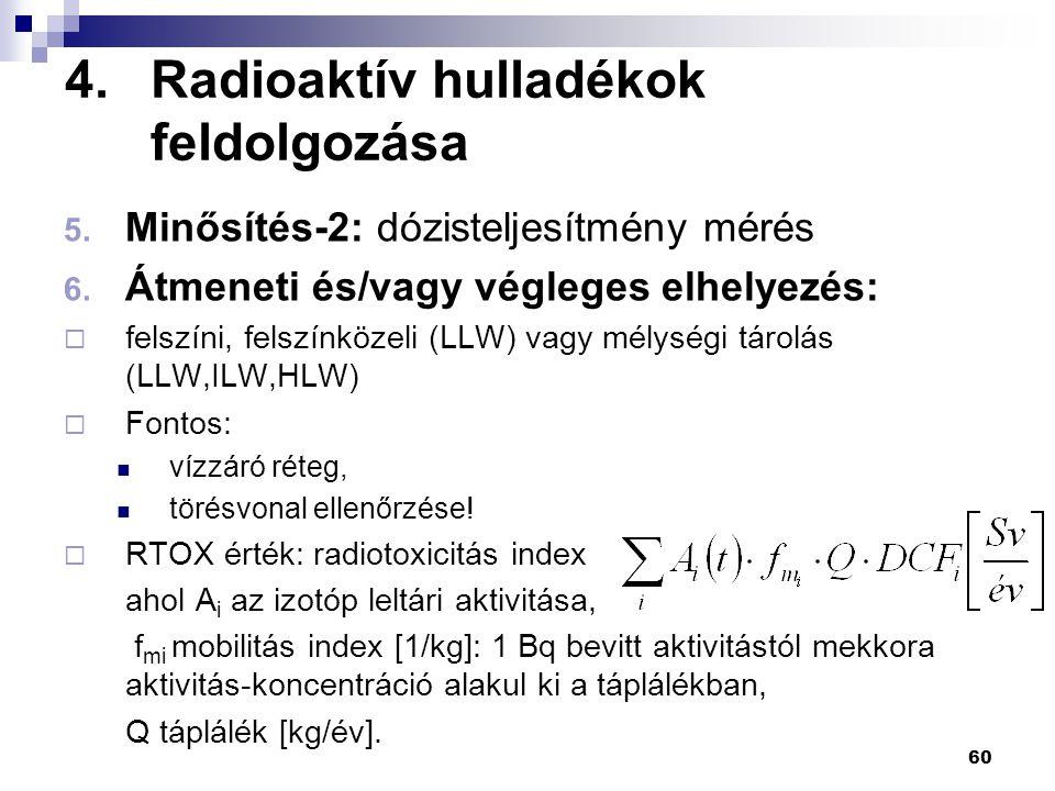 Radioaktív hulladékok feldolgozása