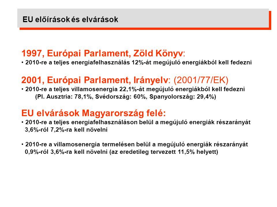 1997, Európai Parlament, Zöld Könyv: