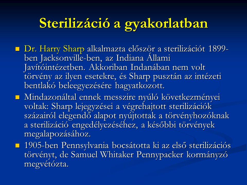 Sterilizáció a gyakorlatban