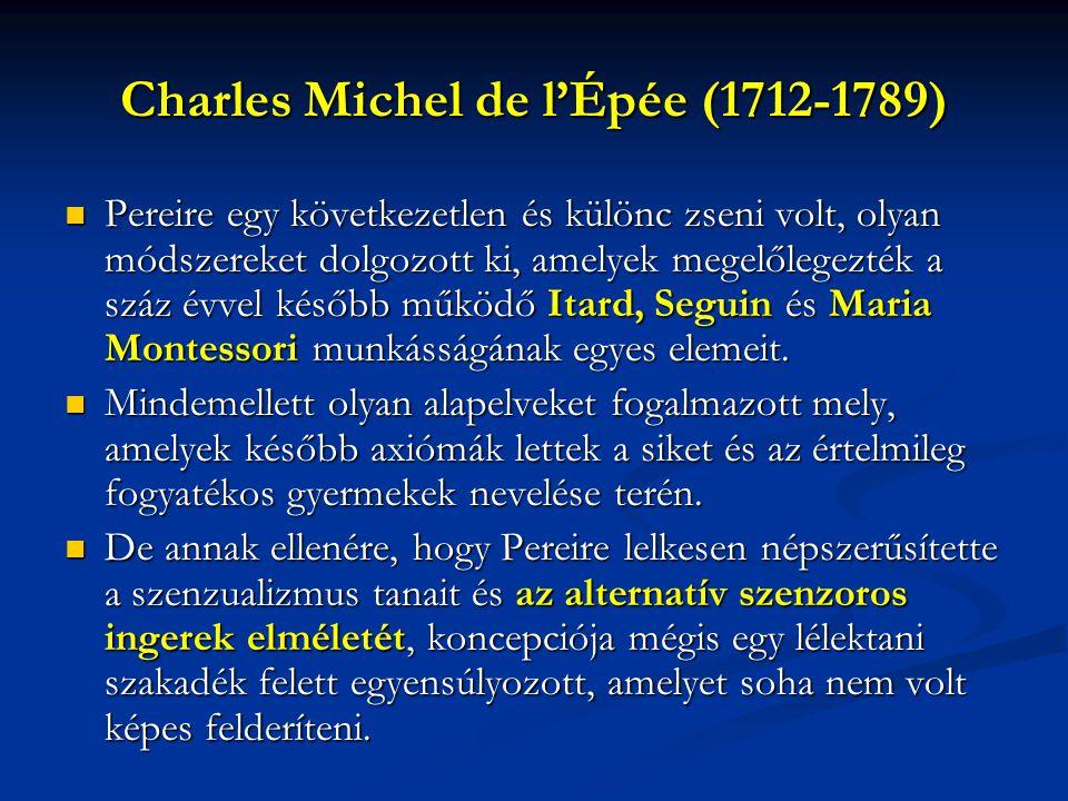 Charles Michel de l'Épée (1712-1789)