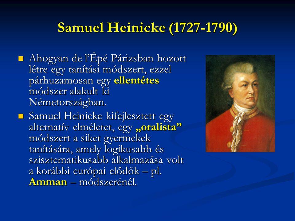 Samuel Heinicke (1727-1790)